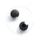 Bremshebel Plugs für Tektro RX 4.1 & 5.0 | 1 Paar | Kunststoff schwarz