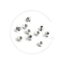 Miche Primato Pista Single Speed Chainring Bolts | Steel Silver | 5 Pcs