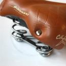 Selle Bassano Cafe Racer Spring Unisex Deluxe Sattel | hellbraun