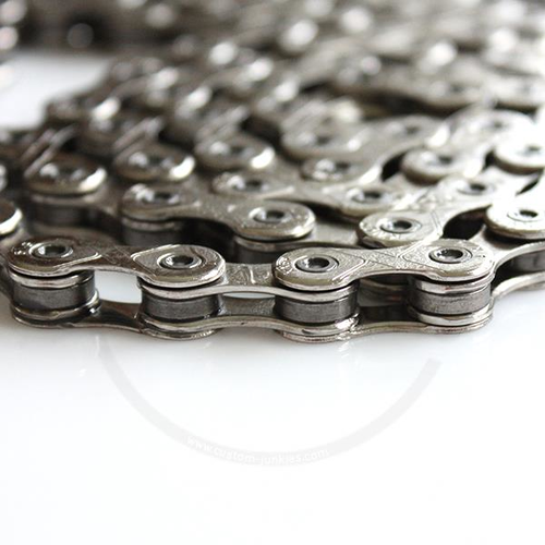 KMC E1 Single Speed Chain | 1/2 x 3/32 (narrow) | Nickel-Plated