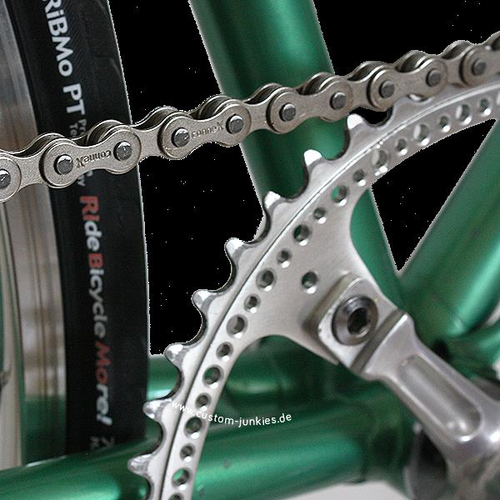 1-Speed, Nickel, 1//8-Inch, 112 Link Wipperman 108 Chain