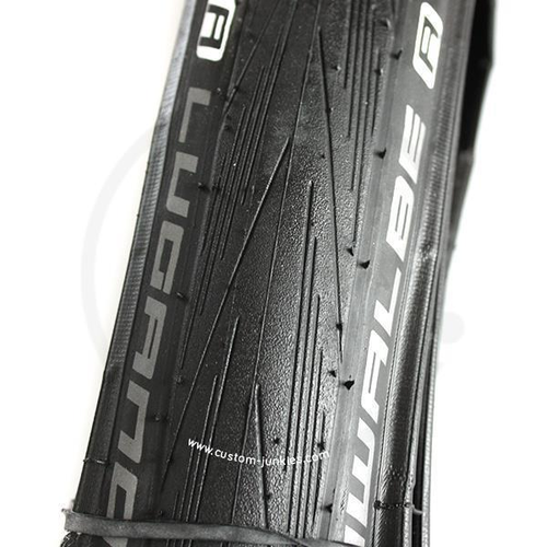 Schwalbe Lugano HS471 | Road Bike Folding Clincher Tyre | black - 700x23C