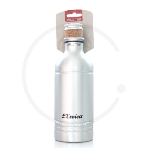Elite Flasche Vintage *LEroica*   Aluminium mit Kork-Stopfen   600ml