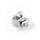 Saddle Clamp 7/8 inch for Plain Seatpost | silver
