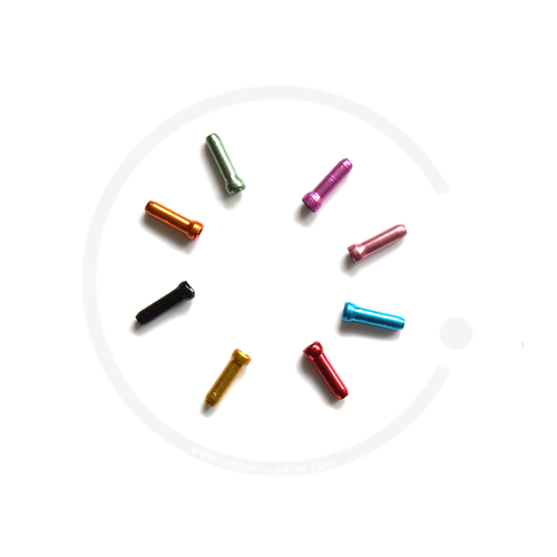 Jagwire Brake Inner End Cap Crimp  (Ø 1.6mm) - various colours