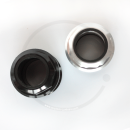 "Tange Seiki Falcon 1 1/8"" Threaded Headset   silver or black"