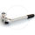 Kalloy Adjustable 1 inch Quill Stem | Handlebar Clamp 25.4 | Lenght 80mm | silver or black