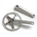 Single Speed Crankset SS-8102 | 110mm BCD | 44T | silver...