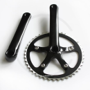 Single Speed Crankset SS-8102 | 110mm BCD | 44T | silver or black