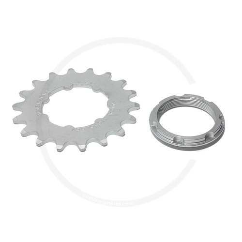 """Miche Track Sprocket with Carrier 