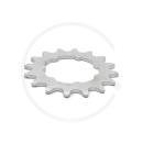 """Miche Track Sprocket   Steel Silver   1/2 x 1/8"""" (3mm width)   14T - 18T"""