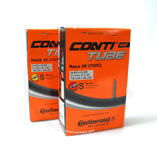 Continental Race 28 Inner Tube | Presta Valve - 42mm or 60mm