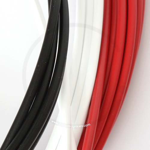 Shimano Outer Shift Cable Housing SIS SP41 | black, white, red, grey