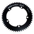GEBHARDT Track Chainring | Aluminium black | 144mm BCD