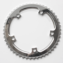 GEBHARDT Track Chainring CNC | silver polished | 144mm BCD