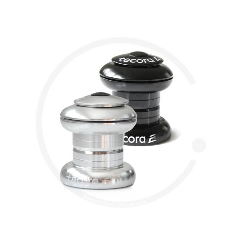 "Tecora E EC30 Threadless Headset 1"" Ahead | Cartridge Bearings | silver or black"