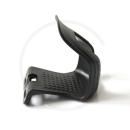 Zefal Christophe 45 Half Toe Clips | Plastic black