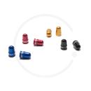 Schrader Valve Caps MTB | Aluminium anodised | 2 Pcs |...