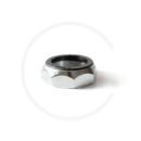"Threaded Headset Top Locknut | Chrome Plated | 1"" or 1 1/8"""