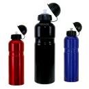 Trinkflasche Alu mit Deckel | 750 ml