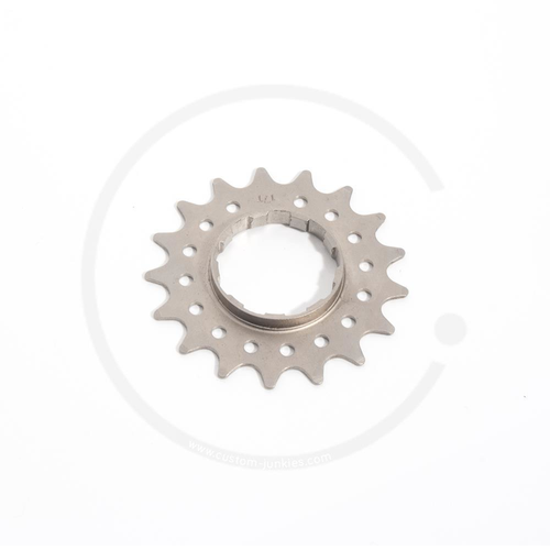 Single Speed Wide Foot Sprocket for Cassette Hubs (Shimano HG) | 13T - 17T