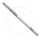 Sattelkerze Stahl hochglanzverzinkt | silber | Ø 22.2 bis 26.0
