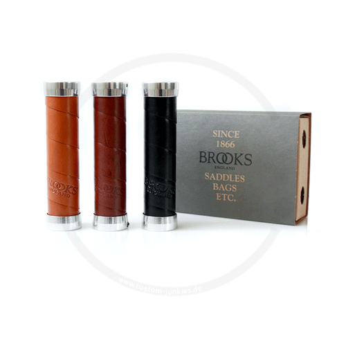 Brooks Slender Leather Grips