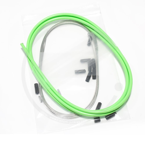 Elvedes Universal Schaltzug-Set | MTB & Rennrad - hellgrün