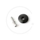"Steuersatzkappe 1 1/8"" | Aluminium | inkl. Schraube"