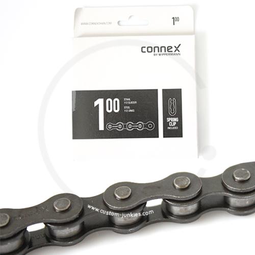 """Connex 100   Singlespeed Kette   1/2 x 1/8""""   stahlgrau"""