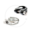 Seat Clamp with Hex Head Bolt | silver or black | 28.6 /...