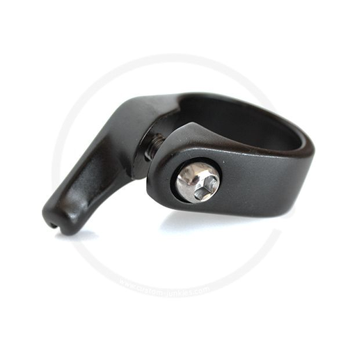 CNC Seat Clamp with Brake Cable Stop | 31.8 or 34.9