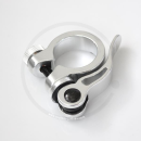 Seat Clamp with Quick Release | silver or black | 28.6 / 31.8 / 34.9