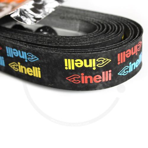Cinelli Logo Velvet Ribbon | Synth. Lenkerband - multicolor