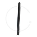 Kalloy Sattelkerze | Aluminium schwarz | 300mm | Ø 25.4 o. 27.2