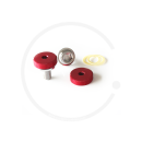 Crank Bolts with Alloy Dust Cap for Square Taper Cranks | various colours
