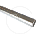 Kalloy Sattelkerze | Aluminium silber | 300mm - 27.8mm