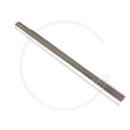 Kalloy Sattelkerze | Aluminium silber | 300mm - 28.8mm