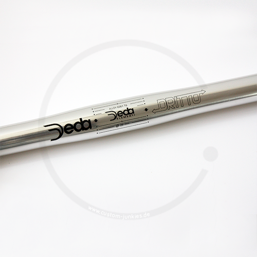 Deda Dritto 26 Straight Bar for Urban Riders | 26.0 / 22.2 / 0°
