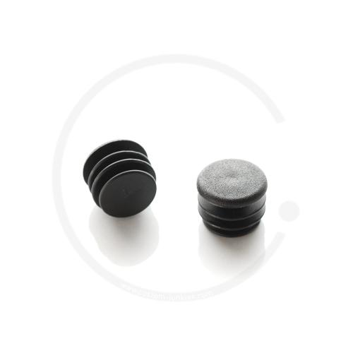 Lenkerstopfen Kunststoff schwarz | Für Lenkerdurchmesser 22.2mm (2 Stück)
