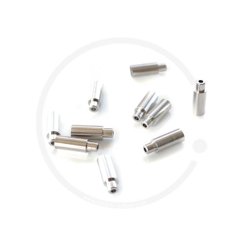Jagwire Endkappe für Schaltzugspirale Ø 4mm | Alu gedichtet