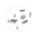 Jagwire Nosed End Cap | Ø 4mm | Aluminium sealed