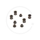 Truvativ Triple Chainring Bolts for 4-arm Cranks | Steel black | 2 x 4 pieces
