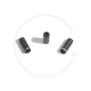 Jagwire Anschlaghülse für Bremszugaußenhülle | 5mm | Alu farbig