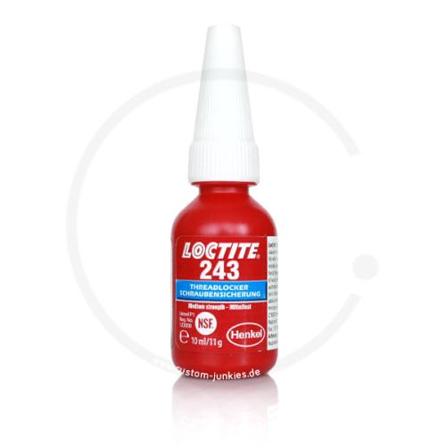 Loctite 243 | Mittelfeste Schraubensicherung | 10ml