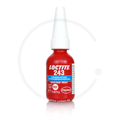 Loctite 243 Threadlocking Adhesive (medium strength) | 10ml