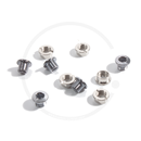 Single Speed Stainless Steel Chainring Bolts | silver