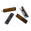 Pedalreflektoren zum Stecken | 4 Stück