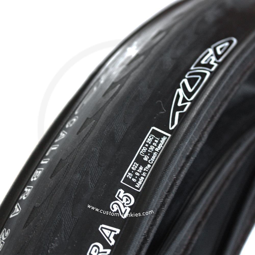 Tufo Calibra | Road Bike Folding Clincher Tyre | black | 700x 23-25C