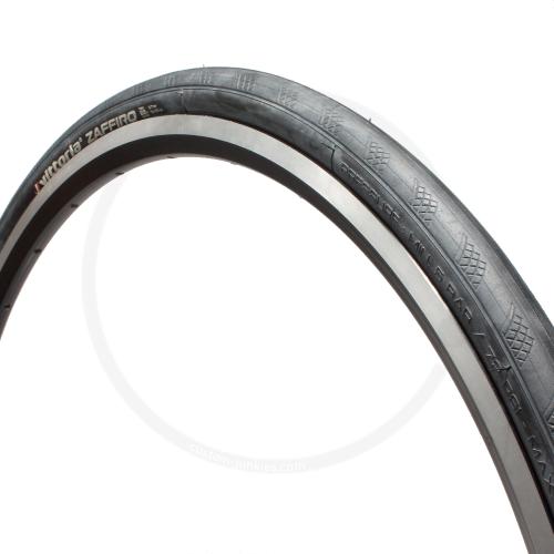 Vittoria Zaffiro | Rennrad Drahtreifen | schwarz - 700x25C